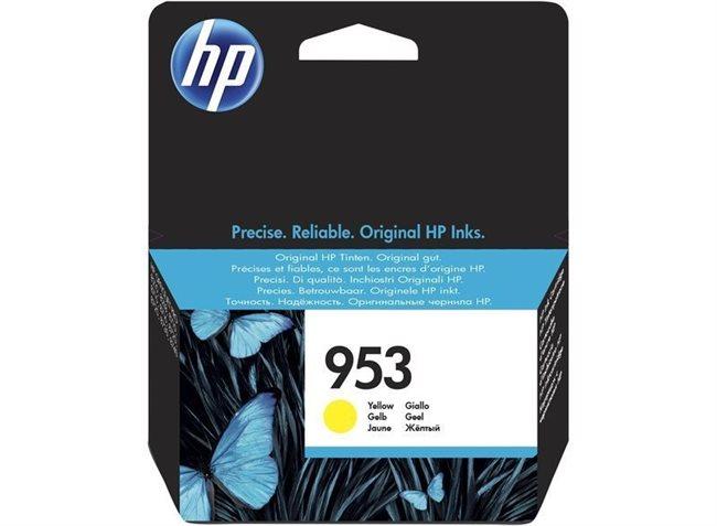 HP 953 original Tinte gelb - F6U14AE