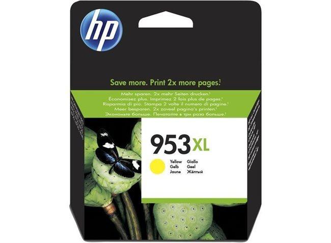 HP 953XL original HC Tinte gelb - F6U18AE