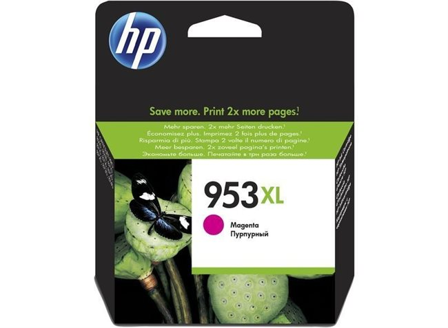 HP 953XL original HC Tinte magenta - F6U17AE