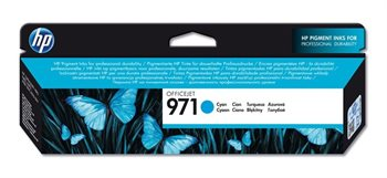 HP 971 original Tinte cyan - CN622AE
