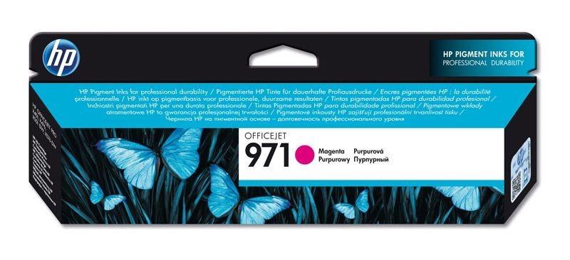 HP 971 original Tinte magenta - CN623AE
