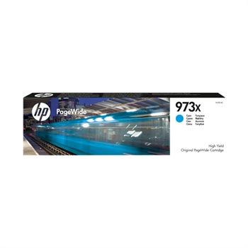HP 973X original HC PageWide Tinte cyan - F6T81AE