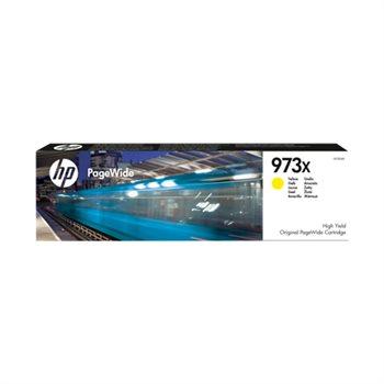 HP 973X original HC PageWide Tinte gelb - F6T83AE