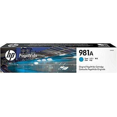 HP 981A original PageWide Tinte cyan - J3M68A