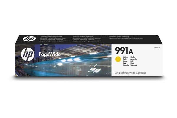 HP 991A original PageWide Tinte gelb - M0J82AE