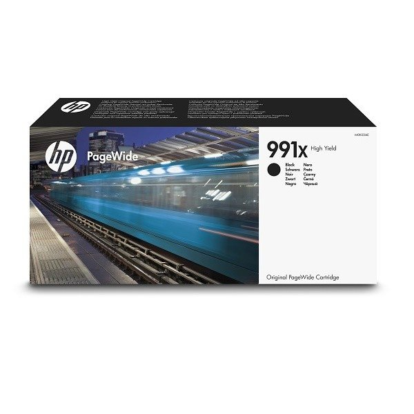 HP 991X original HC PageWide Tinte schwarz - M0K02AE