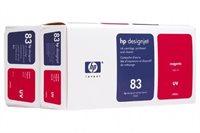 HP Druckkopf + Reiniger + Tinte Nr. 83 UV, magenta