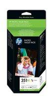 HP Druckpatrone Nr. 351XL + Fotopapier , Q8848EE