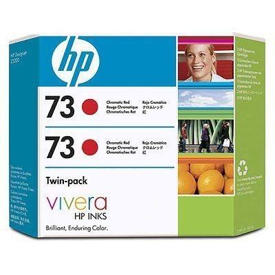HP Druckpatrone Nr. 73 chromrot 2erPack für Z3200