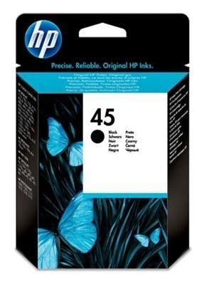 HP Druckpatrone schwarz  für DJ 850, 51645GE