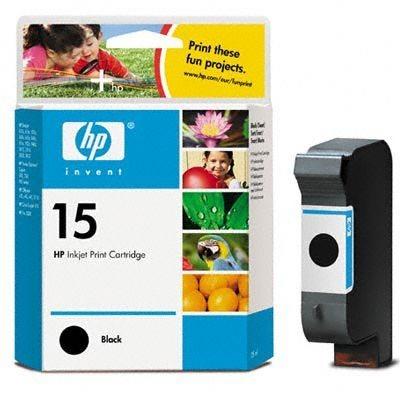 HP Druckpatrone schwarz Nr. 15 für DJ 840 - C6615D
