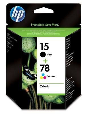 HP Druckpatronen Kombipack (Nr. 15 groß + 78)