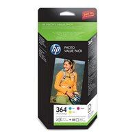HP Foto-Valuepack Nr. 364 (CMY + 85 Blatt), CH082E