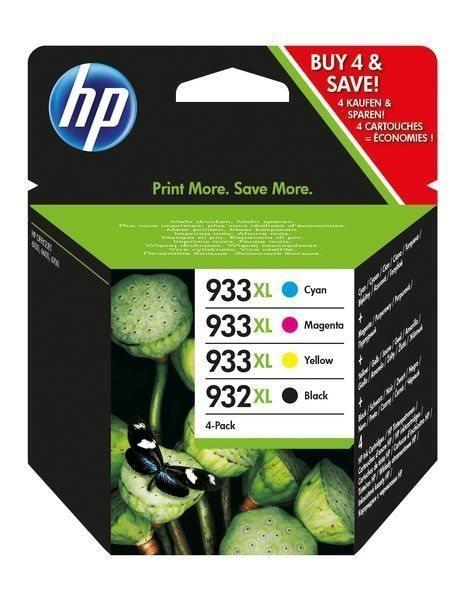HP HP 932XL/HP 933XL original Xl Tinte schwarz, cyan, magenta, gelb - C2P42AE