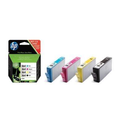 HP Kombipackung Tinte Nr. 364 (BK+CMY), SD534E