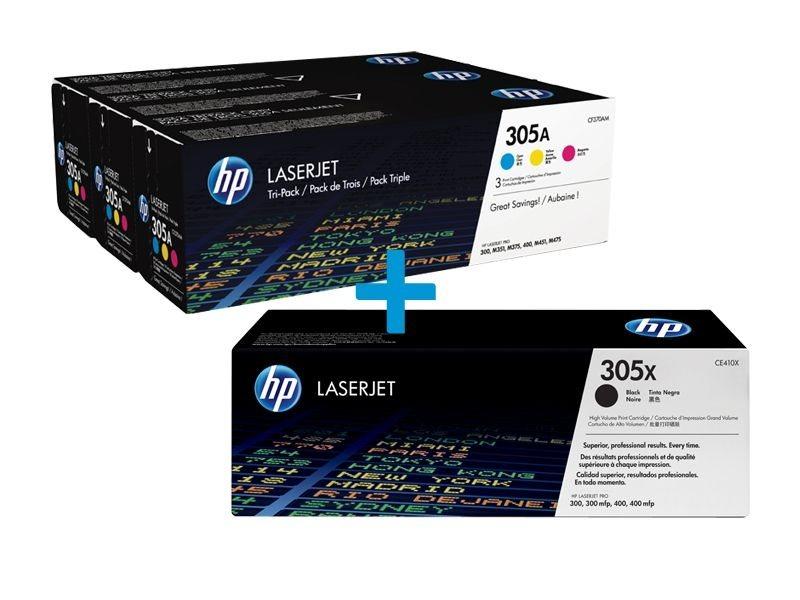 HP Multi-Tonerpaket CE410X+CF370AM
