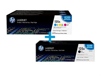 HP Multi-Tonerpaket CF373AM+CB540AD
