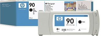 HP Nr. 90 original Tinte schwarz - C5059A