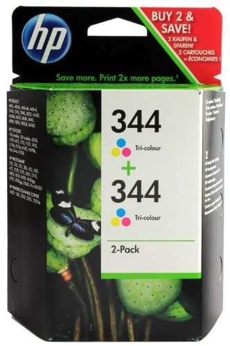 HP Nr. 344 Tintenpatrone color, C9505E, Doppelpack