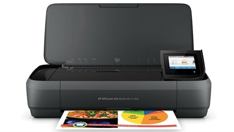 HP OfficeJet 250 Mobil AiO