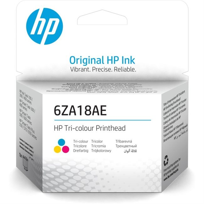 HP Original Druckkopf dreifarbig - 6ZA18AE