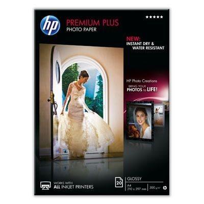 HP Premium Plus Fotopapier weiss, CR672A