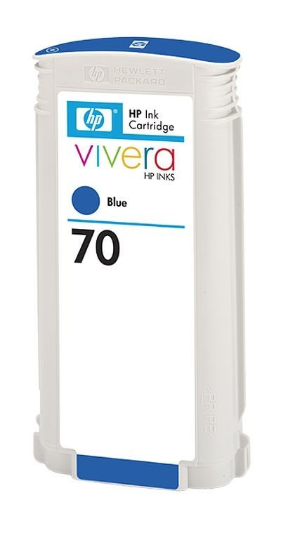 HP Tinte Nr. 70 blau für DesignJet Z3100-Serie (2)