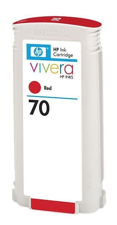 HP Tinte Nr. 70  rot für DesignJet Z3100-Serie (2)
