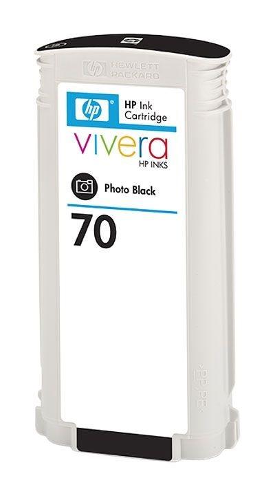 HP Tinte Nr. 70  schwarz für DesignJet Z2100 (2)
