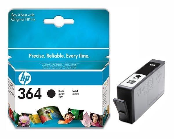 HP Tinte schwarz Nr. 364, CB316E