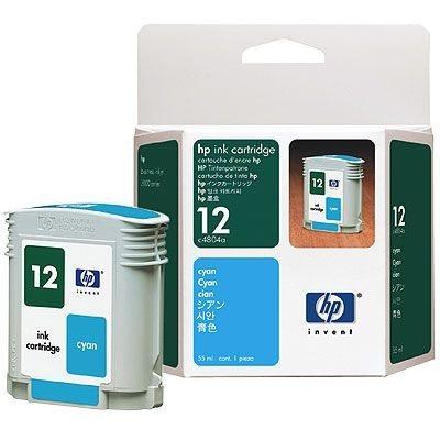 HP Tintenpatrone Nr. 12 - C4804A - cyan