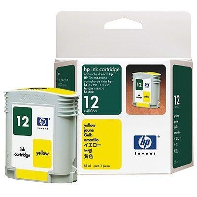 HP Tintenpatrone Nr. 12 - C4806A - yellow