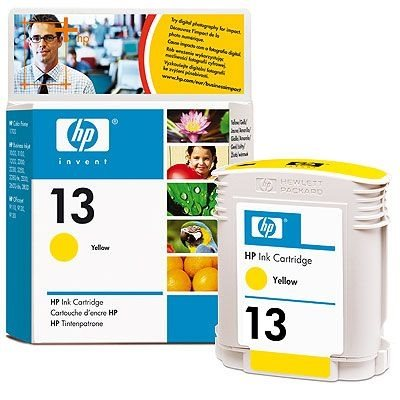 HP Tintenpatrone Nr. 13 - C4817A - gelb