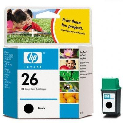 HP Tintenpatrone Nr. 26XL Original schwarz