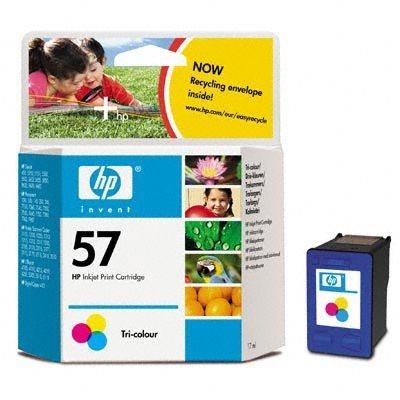 HP Tintenpatrone Nr. 57 DeskJet 5550, color