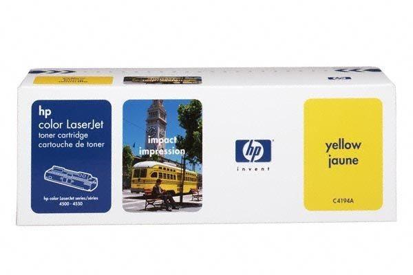 HP Toner für Color LJ4500 gelb- C4194A -