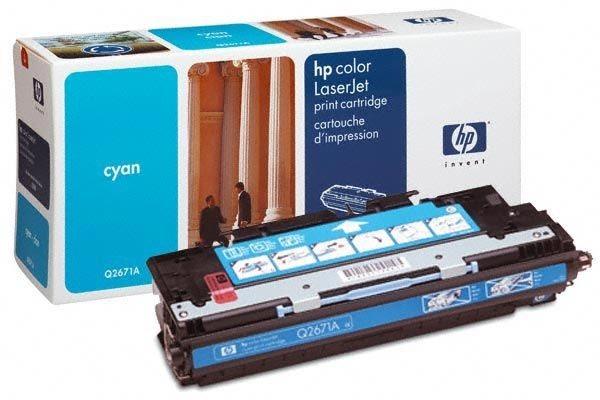 HP Toner Original für Color LaserJet 3500, cyan