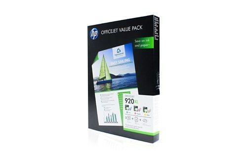 HP Valuepack Nr. 920XL (CMY + 50 Blatt A4-Papier)
