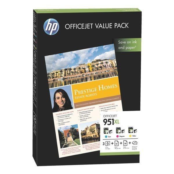 HP Valuepack Nr. 951 XL C/M/Y , CR712AE