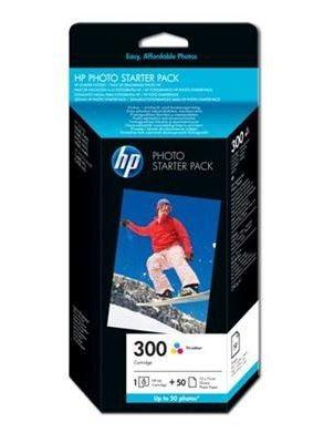 HP Valuepack, Tinte color (C/M/Y) + Fotopapier