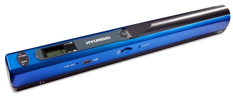 HYUNDAI Pocket Scanner MS01, blau