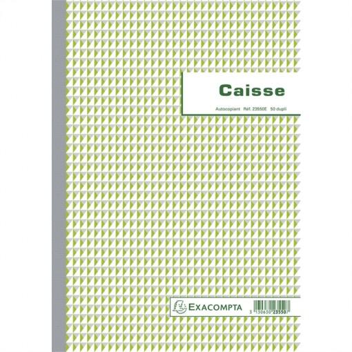 Kassenbuch A4 Einnahme-Ausgabe 50x2Bl