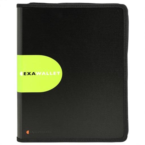 Konferenzmappe Exawallet mit Taschenrechner, aus PP 2mm, 26,5x34cm für DIN A4 - Exactive