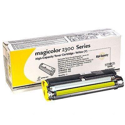 Konica Minolta Toner gelb für QMS Magicolor 2300