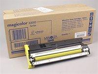 Konica Minolta Toner gelb für QMS Magicolor 2200