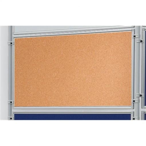 Korktafel ECO, beidseitig verwendbar, 120 x 90 cm, kork