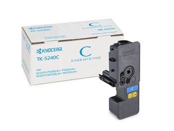 KYOCERA Original - Toner cyan TK5240C