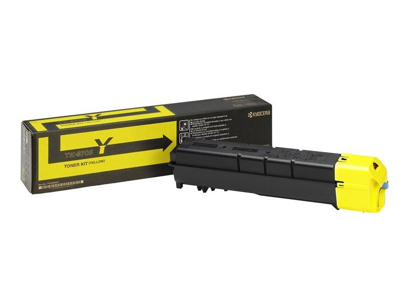 Kyocera Original - Toner gelb TK-8705Y