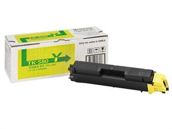 Kyocera Toner-Kit gelb für FS-C5150DN, TK-580Y