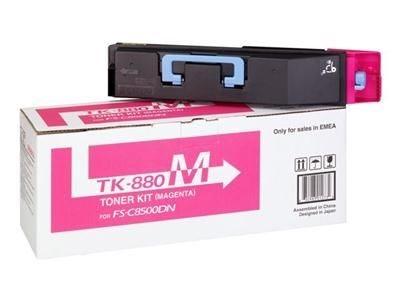 Kyocera Toner magenta für FS-C8500DN, TK-880M